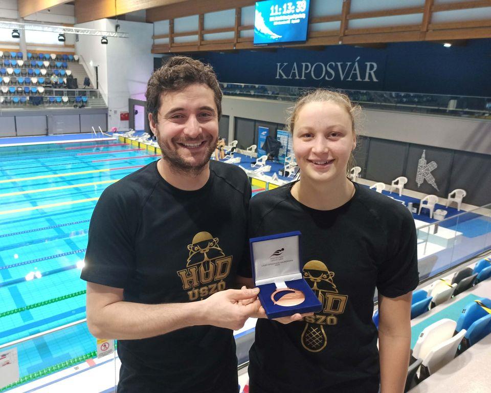 Ob-sikerek után Eb-pontszerzésre készül a HÓD Úszó SE versenyzője, Ugrai Panna