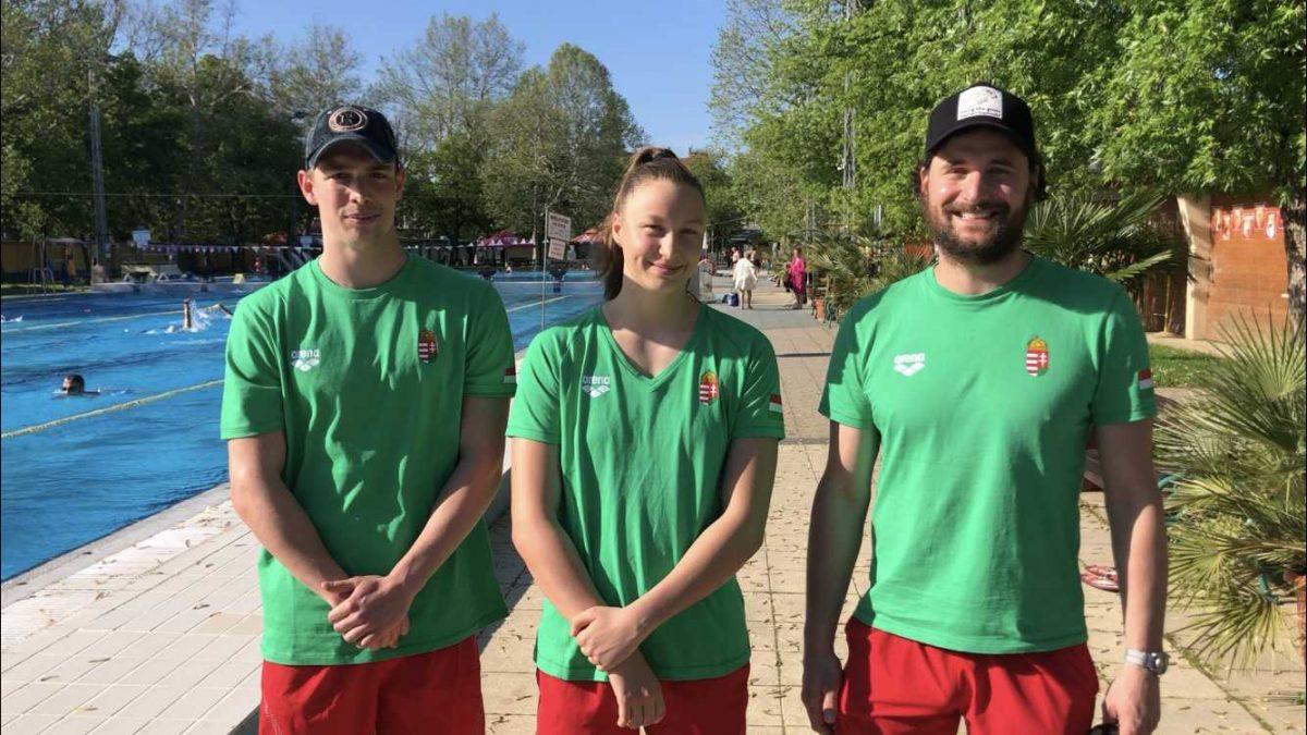 A Hód Úszó versenyzői készen állnak az Európa-bajnokságra